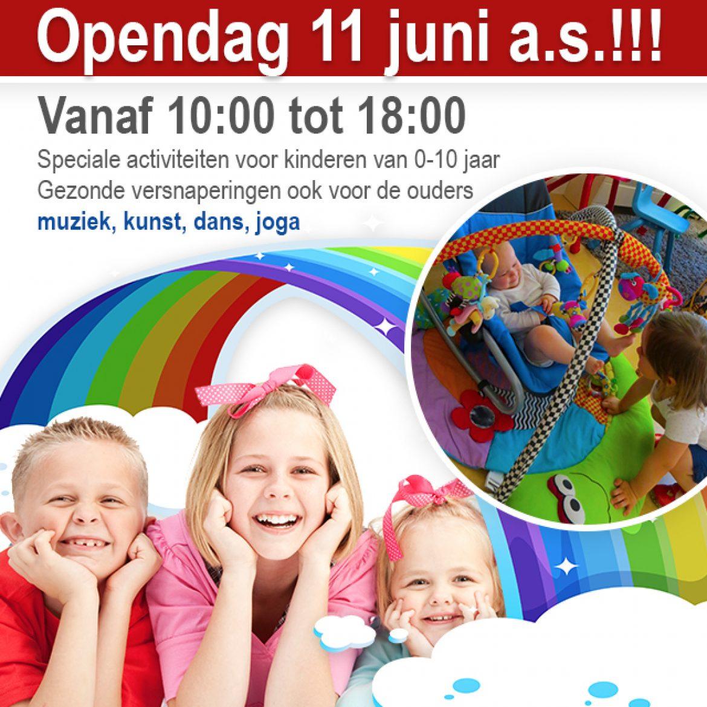 Bezoek ons op de OPEN DAG 11 juni!
